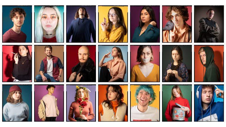 Portraits couleur