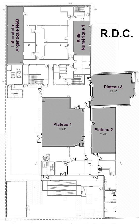 Plan rez-de-chaussée école photo CE3P